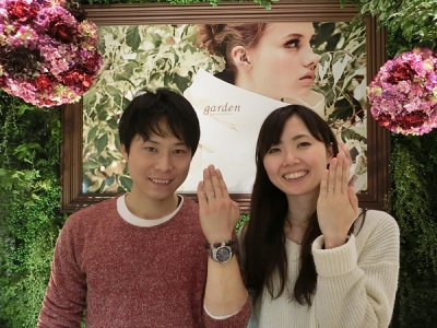 いい結婚指輪に出逢えました。