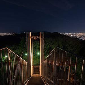 大阪のサプライズプロポーズ 鐘の鳴る展望台 信貴生駒スカイライン