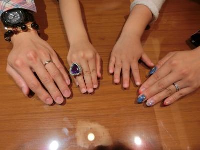素敵な指輪が出来てとても嬉しいです。