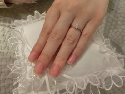 良い指輪に出会えて良かったです。