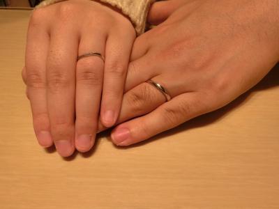 指輪の品揃えもスタッフさんの対応も一番良かったです。