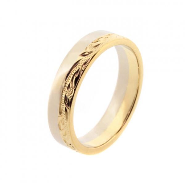 Half Engrave Ring