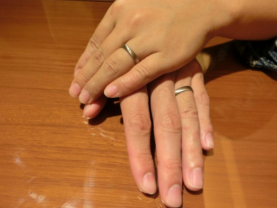 納得した指輪を選ぶことができました