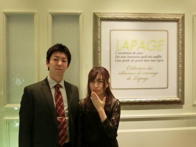 ラパージュ結婚指輪正規取り扱い店大阪11