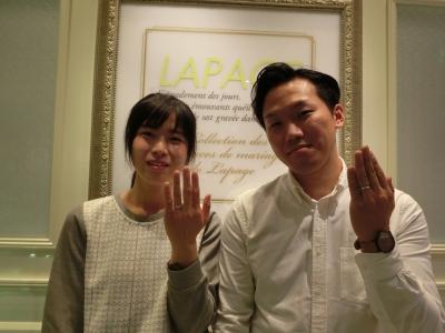 ラパージュ結婚指輪正規取り扱い店大阪12
