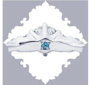 ディズニーシンデレラ結婚指輪正規取り扱い店大阪2