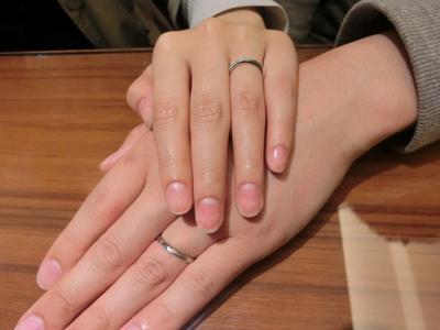 指輪の種類がたくさんあっていろいろ選べたのでよかった。