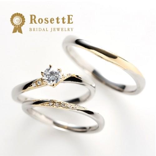 プロポーズ婚約指輪人気ロゼット