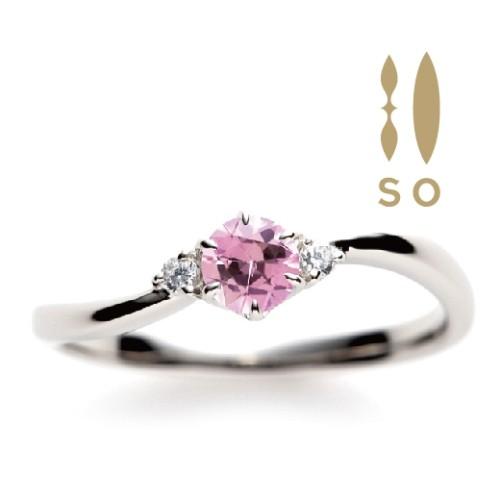 SOカラーストーン結婚指輪大阪1