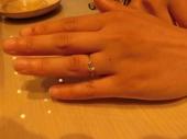 """やっと""""garden""""で素敵な指輪にめぐりあえました。"""