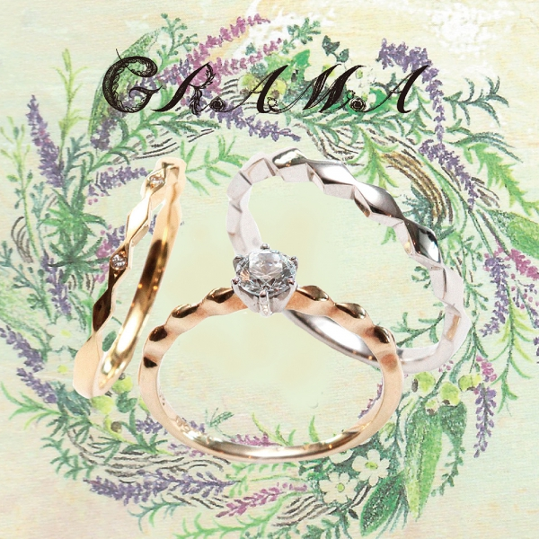 グラマの結婚指輪婚約指輪の正規取り扱い店ガーデン1