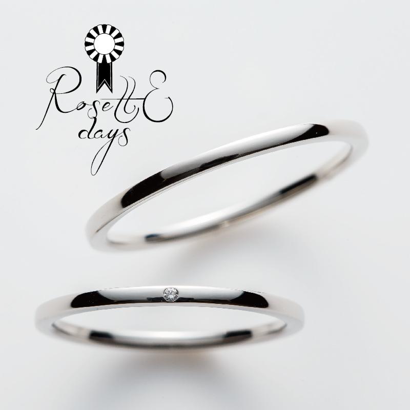 ロゼットデイズRosettEdaysの結婚指輪婚約指輪の正規取り扱い店ガーデン心斎橋12