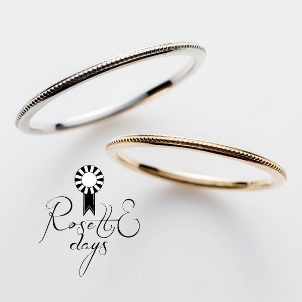 ロゼットデイズRosettEdaysの結婚指輪婚約指輪の正規取り扱い店ガーデン心斎橋6