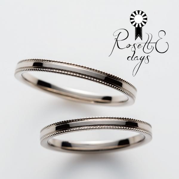 ロゼットデイズRosettEdaysの結婚指輪婚約指輪の正規取り扱い店ガーデン心斎橋9