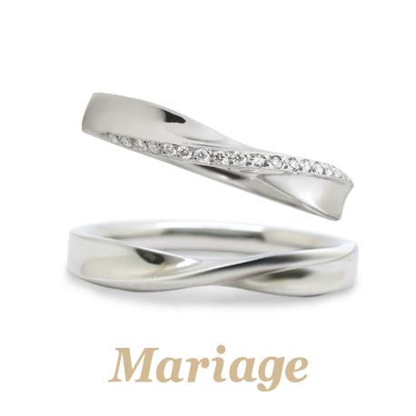 マリアージュエントの結婚指輪正規取扱店ガーデン心斎橋C
