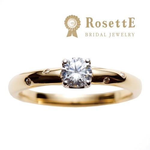 心斎橋なんばでRosettEロゼットの婚約指輪きらめきの正規取扱店はgarden心斎橋