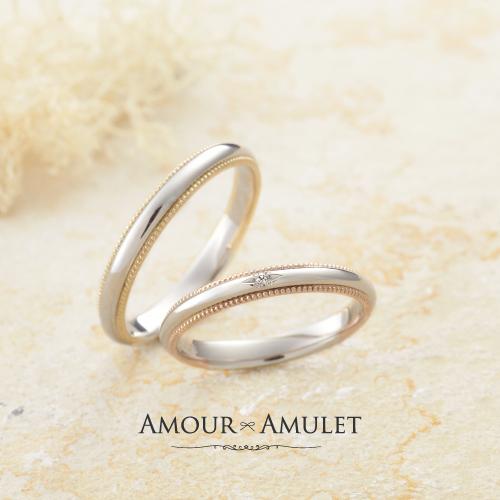 おしゃれな結婚指輪フルール