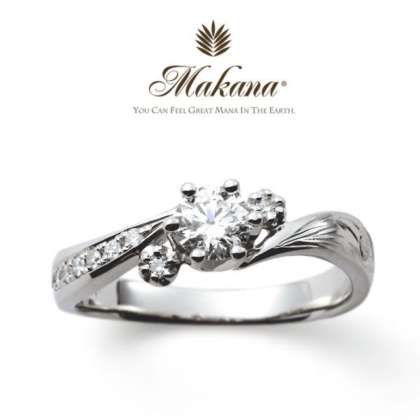 マカナの婚約指輪の正規取扱い店ガーデン心斎橋2