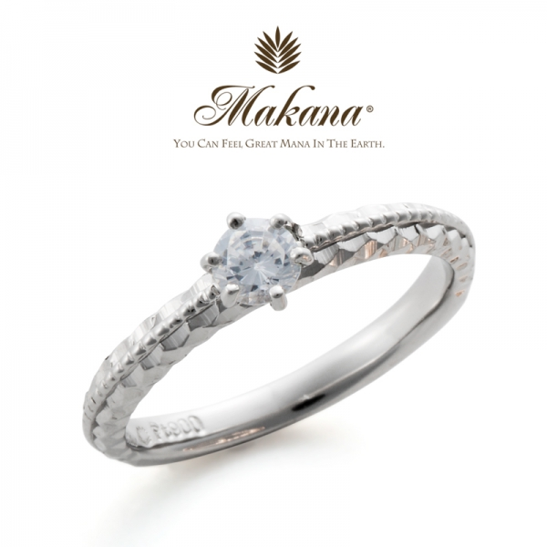 ハワイアンジュエリーのMakanaマカナの婚約指輪でME-5の大阪・心斎橋・難波・奈良・和歌山の正規取扱店3