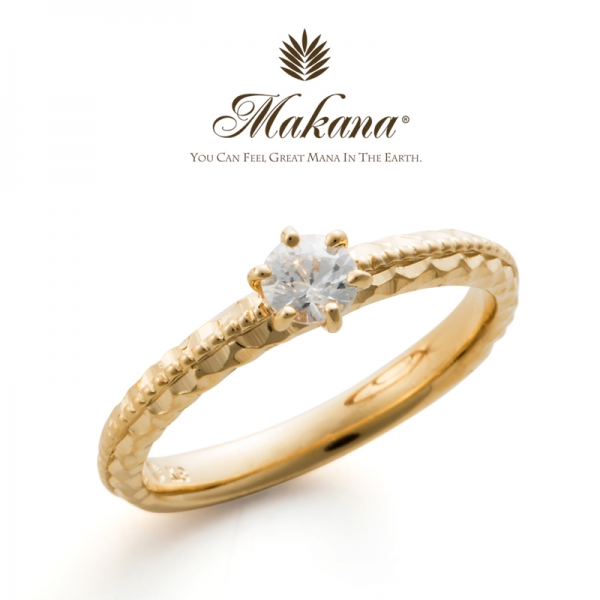 ハワイアンジュエリーのMakanaマカナの婚約指輪でME-5の大阪・心斎橋・難波・奈良・和歌山の正規取扱店1