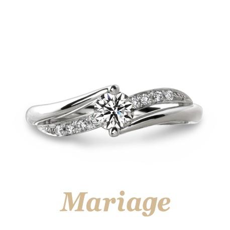 心斎橋なんばでMariage entマリアージュエントプルミエールの婚約指輪の正規取扱店はgarden心斎橋