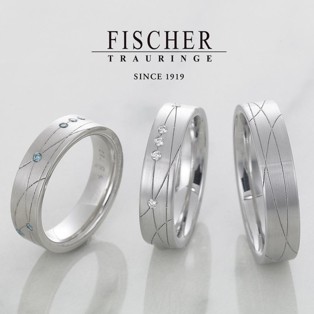 FISCHERの結婚指輪3801612/6801612/0601612