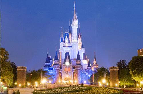 心斎橋・大阪のサプライズプロポーズ Disney Land