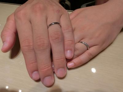指輪大切にします