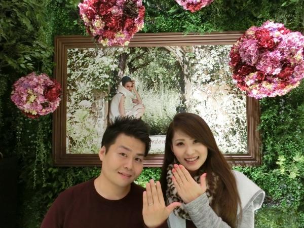 すてきな結婚指輪