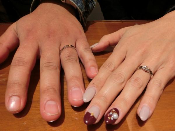 お気に入りの指輪を見つけることが出来ました