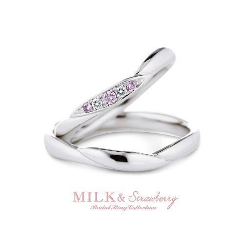 ミルク&ストロベリー結婚指輪正規取り扱い店大阪14