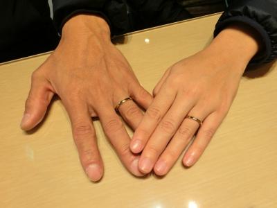 指輪のデザインとても気に入ってます!