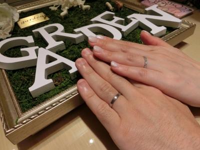 沢山の可愛いデザインの指輪があって楽しく選べました