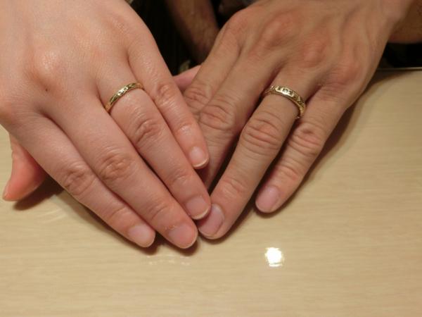 素敵な指輪に出会えました
