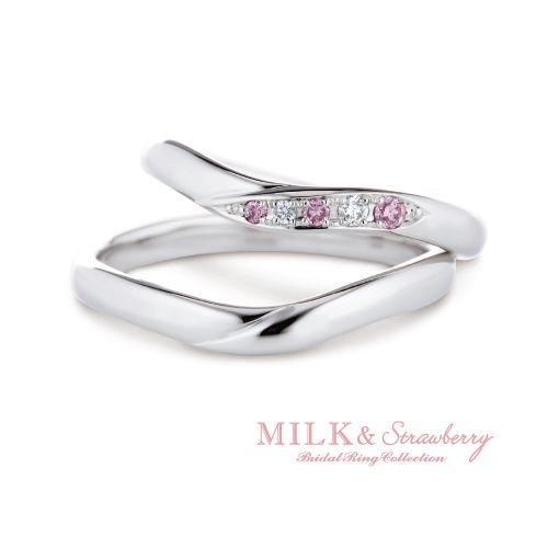 ミルク&ストロベリー結婚指輪正規取り扱い店大阪8