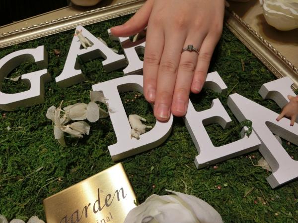 素敵な指輪に出会うことができました!