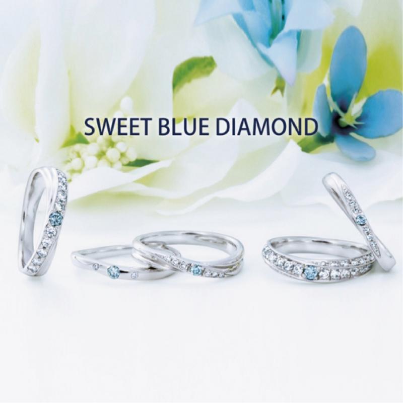 SWEET BLUE DIAMOND インサイド誕生石プレゼント!!1/8~1/22