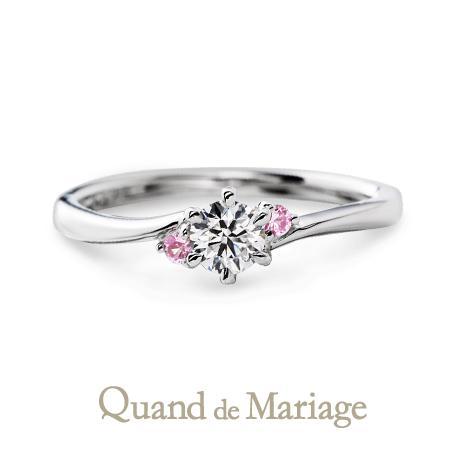 心斎橋なんばでQuand de Mariageクアンドマリアージュの婚約指輪正規取り扱い店はgarden心斎橋