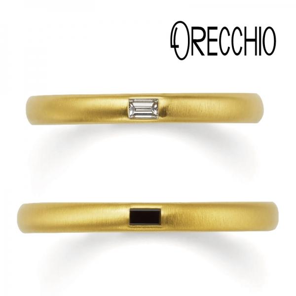 和歌山で人気の結婚指輪オレッキオ1