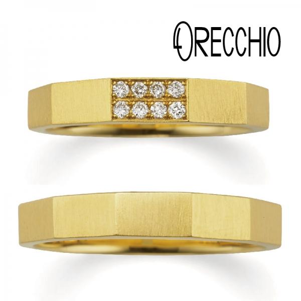 おしゃれな結婚指輪オレッキオ1