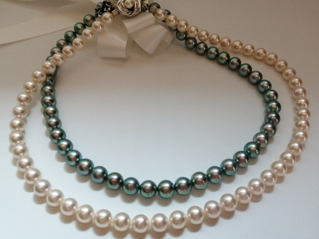 真珠ネックレスのイメージ