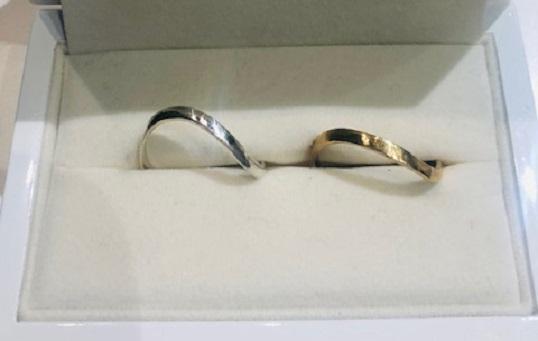 大阪心斎橋の手作り結婚指輪の