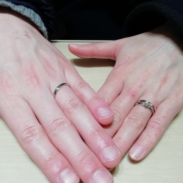 大阪府藤井寺市婚約指輪結婚指輪