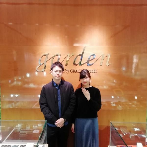大阪市中央区 婚約指輪