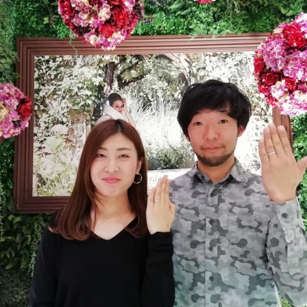 大阪市平野区結婚指輪