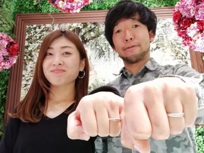 FISCHERの結婚指輪のご成約(大阪市都島区 平野区)