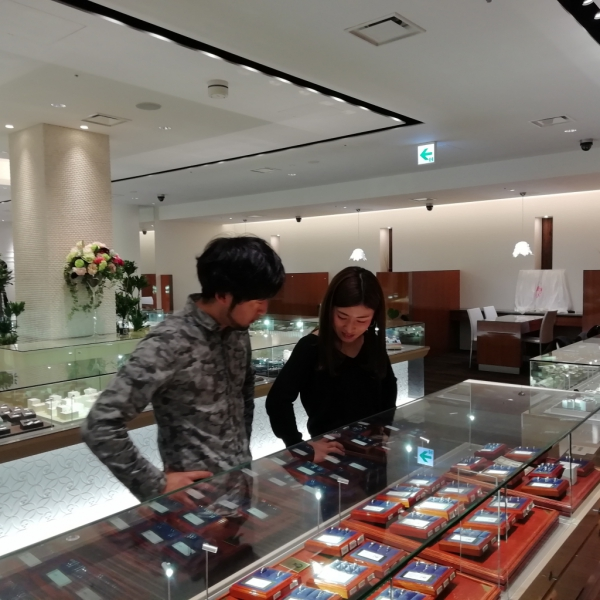 結婚指輪大阪市