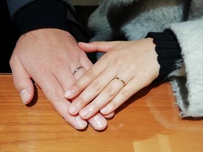 RossettEロゼットの結婚指輪ご成約(大阪市北区 東大阪市)