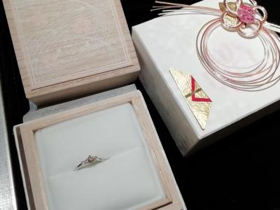 mariageマリアージュの婚約指輪ご成約(大阪府堺市北区 大阪市大正区)