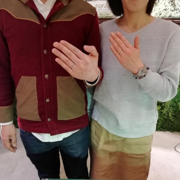 大阪府高槻市結婚指輪
